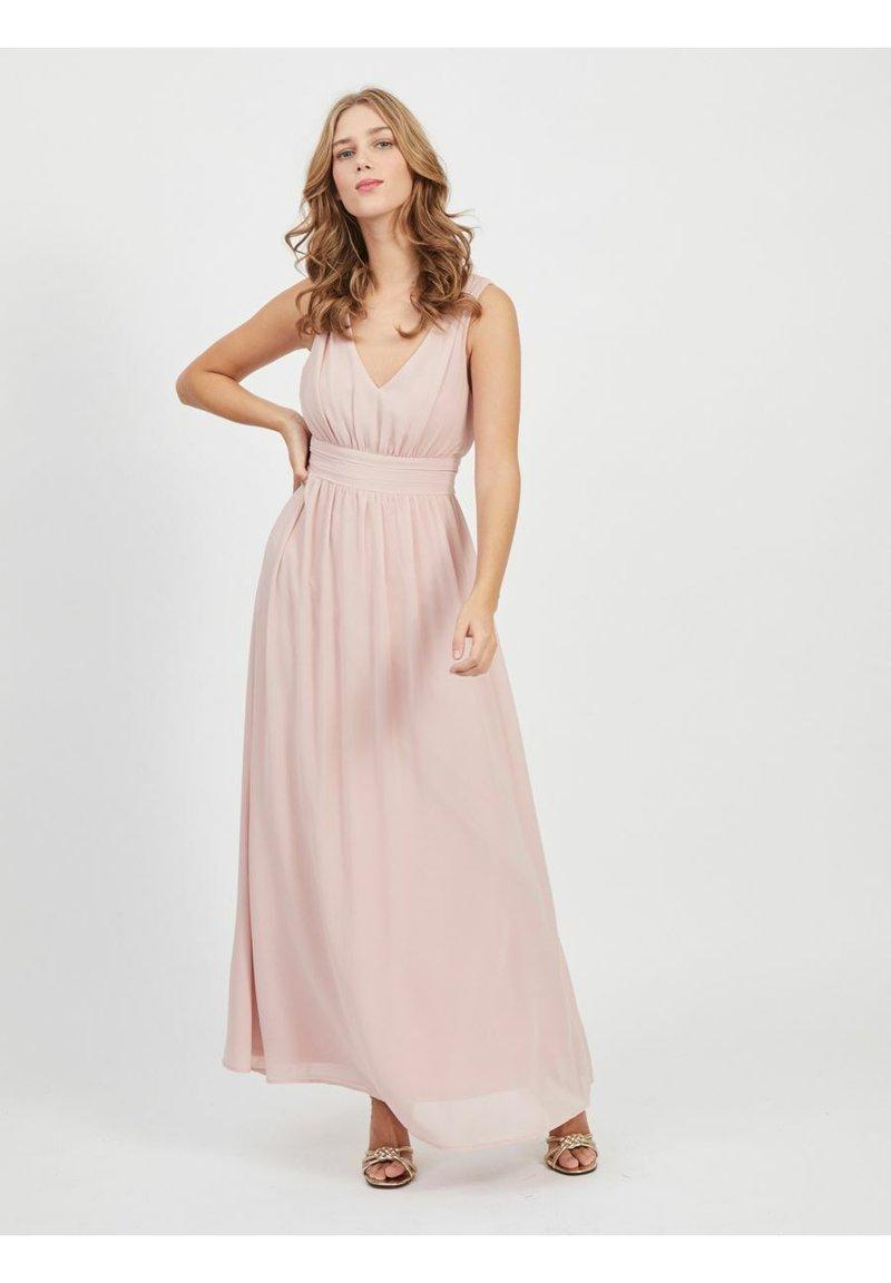 Vila - VIMILINA LONG DRESS - Occasion wear - pale mauve