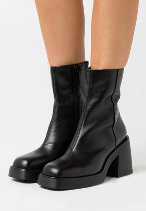 BROOKE - High heeled ankle boots - black
