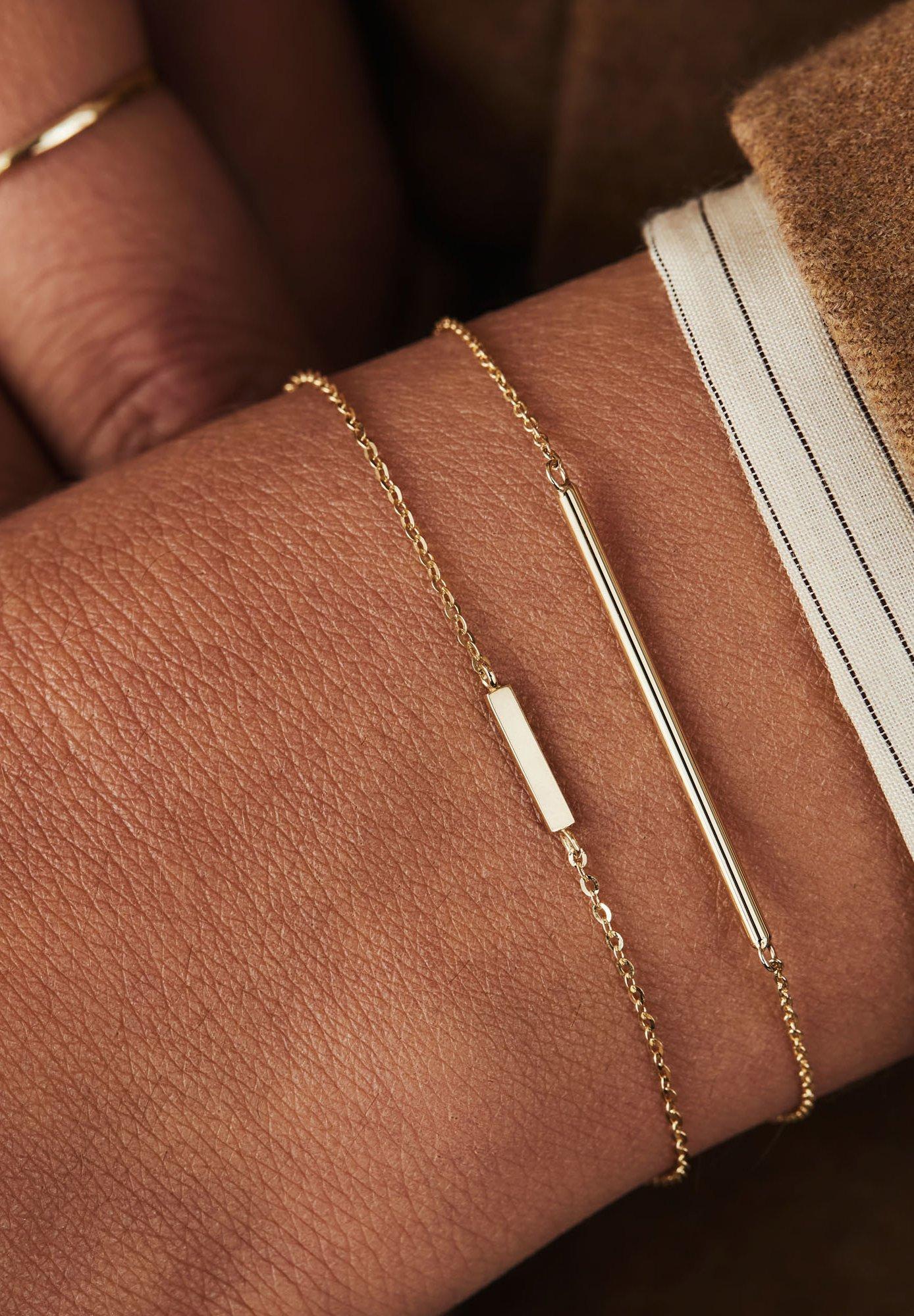 Femme 14 CARAT GOLD - Bracelet
