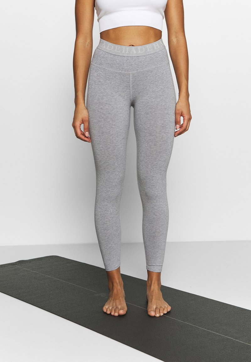 Deha - LEGGINGS - Medias - grey melange