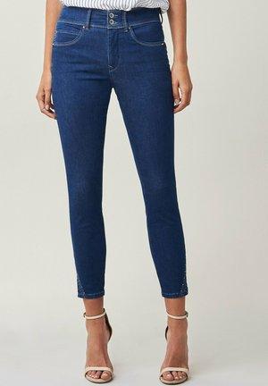 SECRET PUSH IN CAPRI - Jeans Skinny Fit - blau
