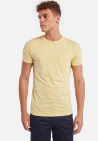 Shiwi - TEE SLUB - T-shirt basique - miami lemon - 0