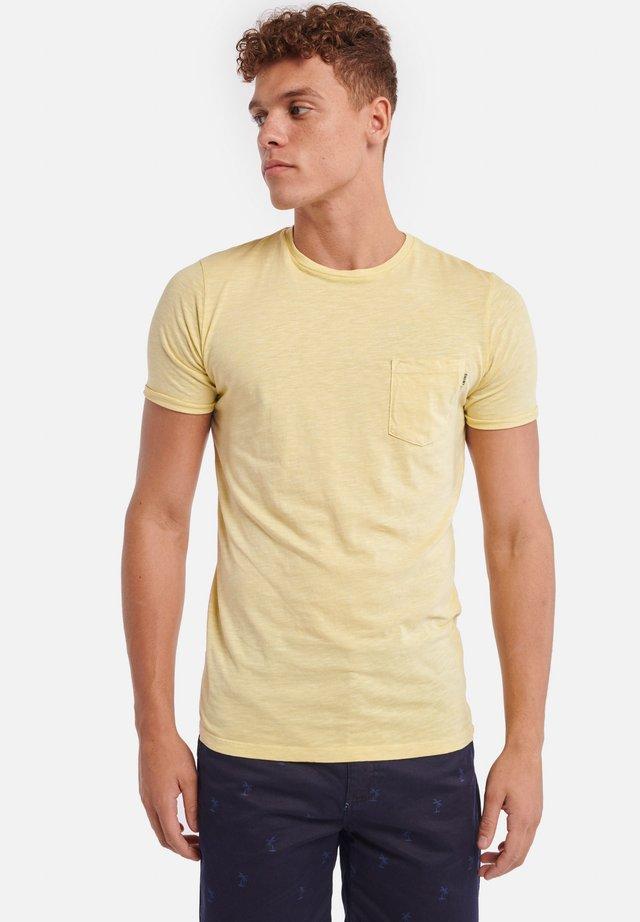 TEE SLUB - Basic T-shirt - miami lemon