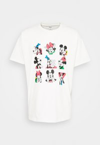 DISNEY MICKEY AND FRIENDS TEE - T-shirt imprimé - marshmallow