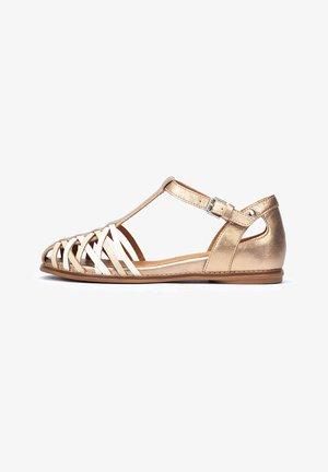 TALAVERA  - Wedge sandals - champagne