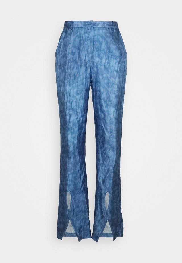 MATTIE TROUSERS - Pantalones - indigo
