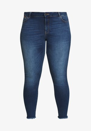 VMSEVEN - Jeans Skinny - medium blue denim