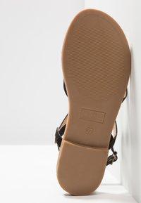 Anna Field - T-bar sandals - black - 6