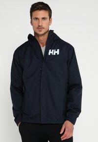 Helly Hansen - ACTIVE JACKET - Regnjakke / vandafvisende jakker - navy - 0