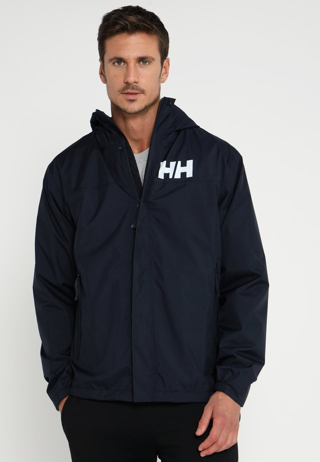 ACTIVE JACKET - Impermeabile - navy