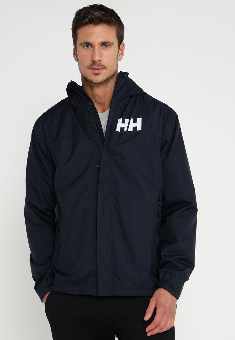 Helly Hansen - ACTIVE JACKET - Regnjakke / vandafvisende jakker - navy