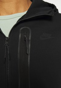 Nike Sportswear - HOODE MIX - Sudadera con cremallera - black - 3