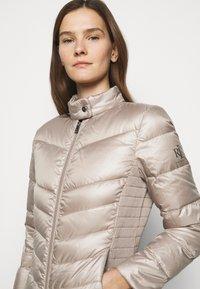 Lauren Ralph Lauren - PEARL SHEEN RACER MOTO SOFT - Down jacket - luxe - 3