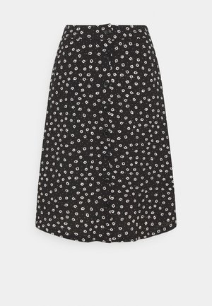 BXFONI SKIRT - A-line skjørt - black mix