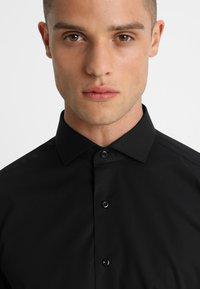 Eterna - SLIM FIT HAI - Formal shirt - black - 3