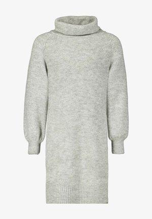 Gebreide jurk - grey melee