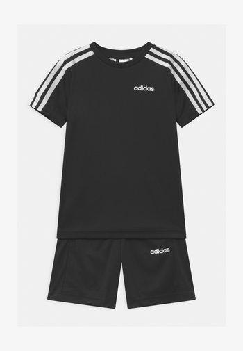 SET UNISEX - Krótkie spodenki sportowe - black/white