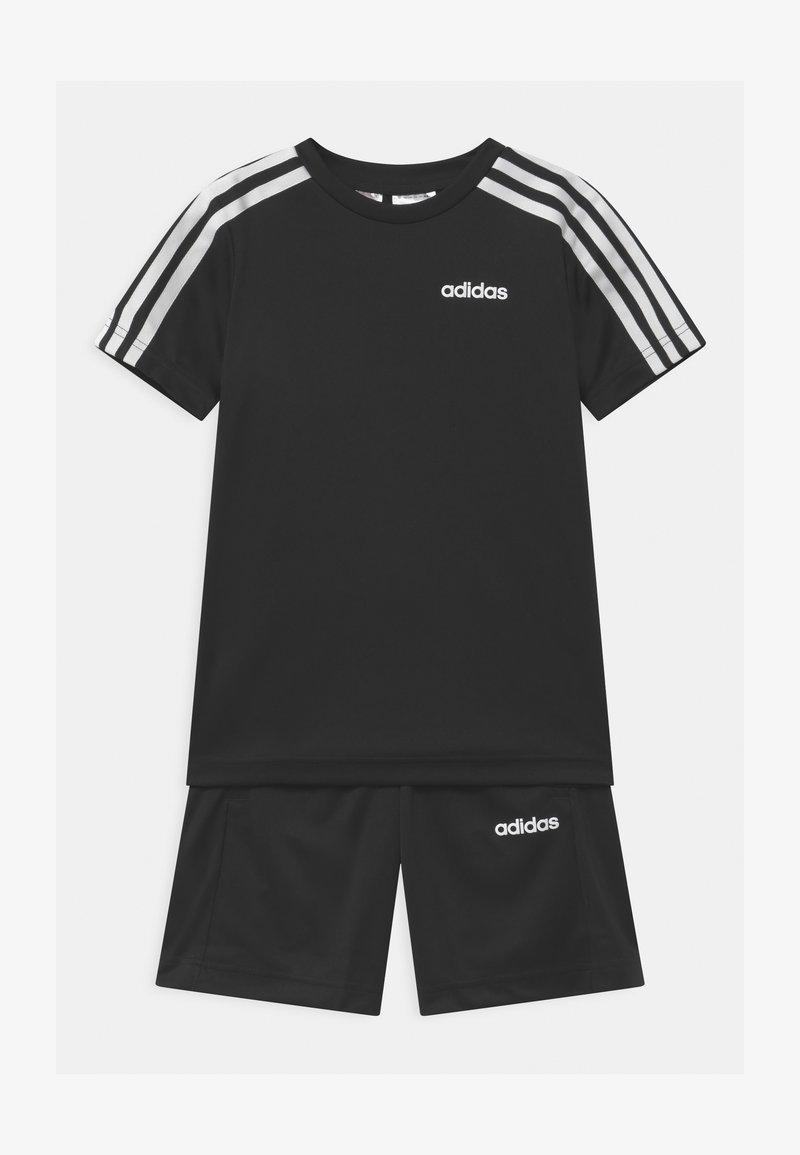 adidas Performance - SET UNISEX - Sports shorts - black/white