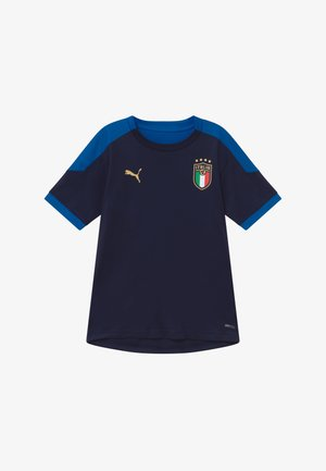ITALIEN FIGC TRAINING SHIRT - National team wear - peacoat/team power blue