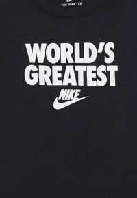 Nike Sportswear - TEE WORLDS GREATEST - T-shirt print - black - 3