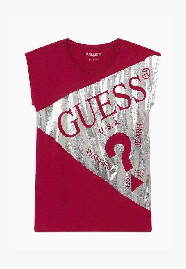 JUNIOR - T-shirt con stampa - disco pink