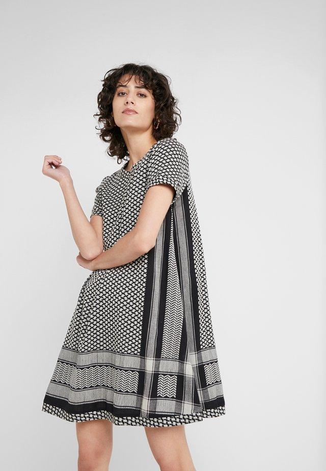 Day dress - black/stone