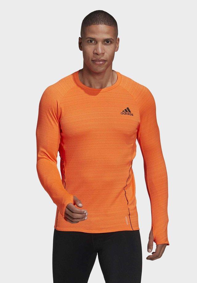 RUNNER LONG-SLEEVE TOP - T-shirt à manches longues - orange