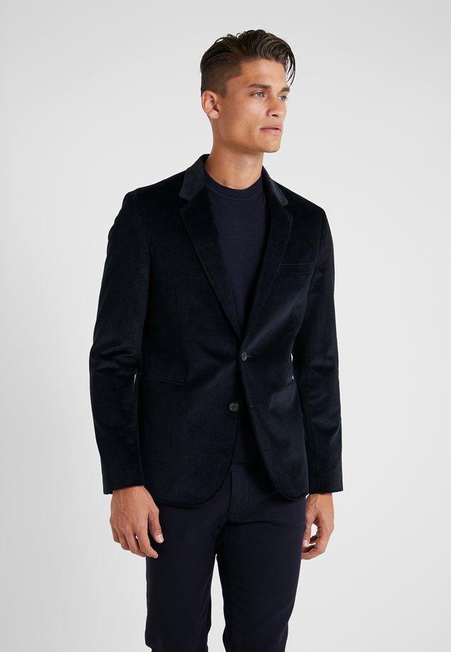 JACKET UNLINED - Blazer jacket - navy