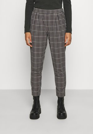 VITITTI NEW CHECK PANTS - Trousers - birch