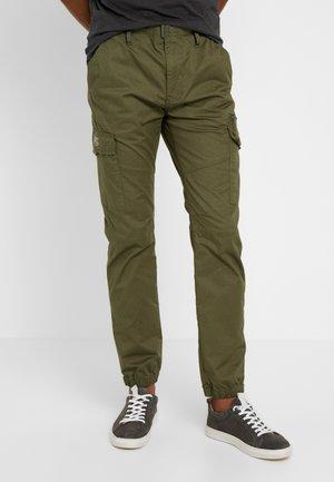 TRTECH - Cargo trousers - khaki