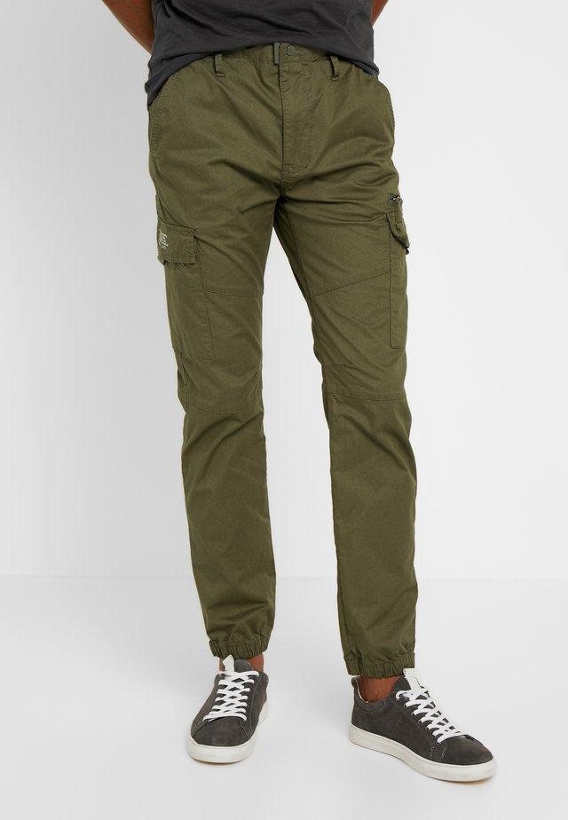 TRTECH - Pantalon cargo - khaki