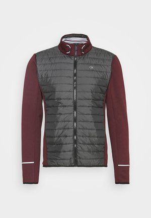 WRANGELL HYBRID JACKET - Fleece jacket - blackberry