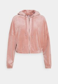 ONLY - ONLLAYA - Zip-up hoodie - adobe rose - 0