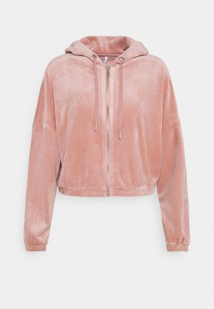 ONLLAYA - veste en sweat zippée - adobe rose
