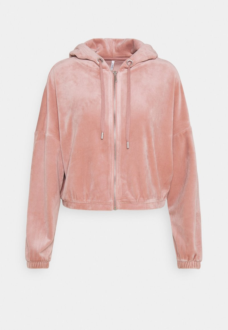 ONLY - ONLLAYA - Zip-up hoodie - adobe rose