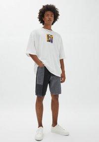 PULL&BEAR - Print T-shirt - off-white - 1