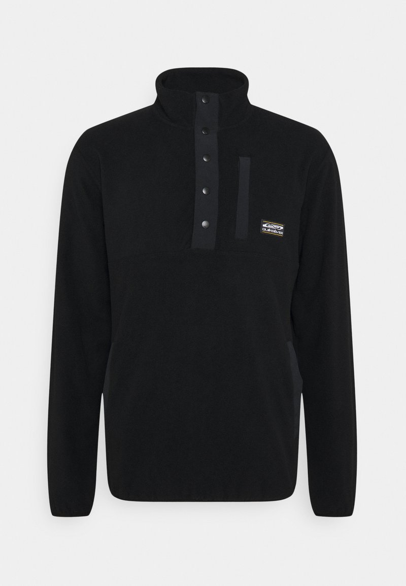 Quiksilver - NO DESTINATION - Fleece jumper - black