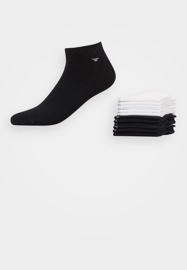 SNEAKER UNI BASIC 6 PACK - Sokker - white