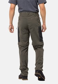 Jack Wolfskin - ACTIVATE LIGHT ZIP OFF - Outdoor trousers - grape leaf - 1
