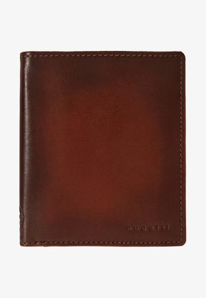 DOMUS RFID WALLET WITH FLAP - Wallet - cognac