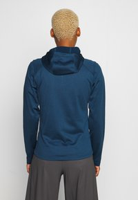 The North Face - WOMENS TECH MEZZALUNA HOODIE - Fleecejacke - blue wing teal - 2