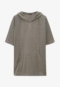 Massimo Dutti - Basic T-shirt - grey - 2