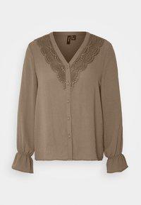 Vero Moda - ZIGGA - Bluse - khaki - 5