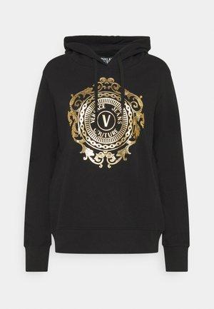 Sweatshirt - black-gold