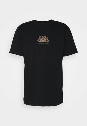 HARMONIA UNISEX - Print T-shirt - black
