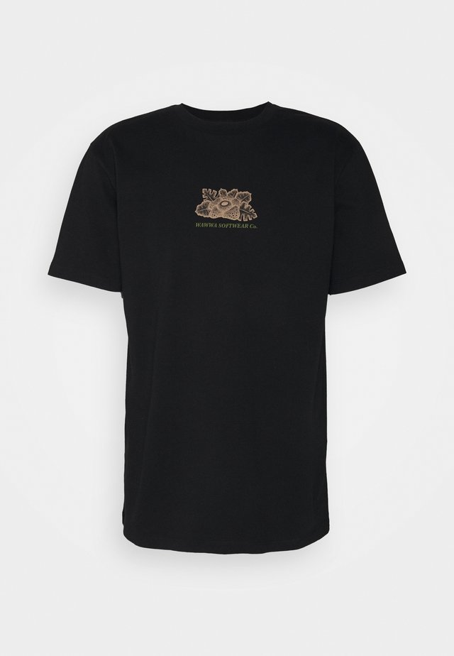 UNISEX HARMONIA - Print T-shirt - black