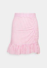 Gina Tricot - ANNIE SKIRT - Mini skirts  - pink - 0