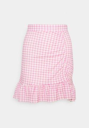 ANNIE SKIRT - Minifalda - pink