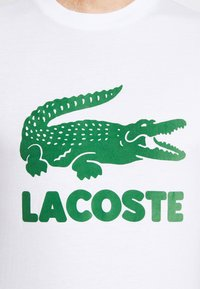 Lacoste - T-shirt con stampa - blanc - 5