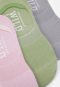 Wild Feet - INVISIBLE SOCKS 3 PACK - Sokken - multicoloured - 1